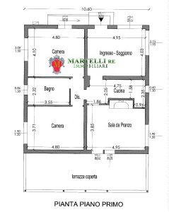 planimetria Villa Vendita Rignano sull'Arno