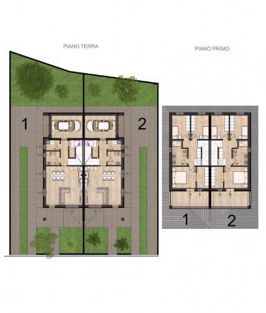 foto plan1 Villa via Don Bortolo Fuoco, Roccafranca