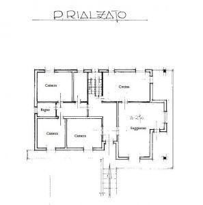 planimetria Villa Vendita Rodigo