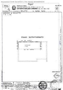 planimetria Villa Vendita Roletto
