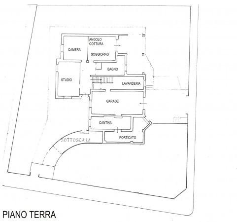 foto Planimetria PT Villa, buono stato, 300 mq, Rolo