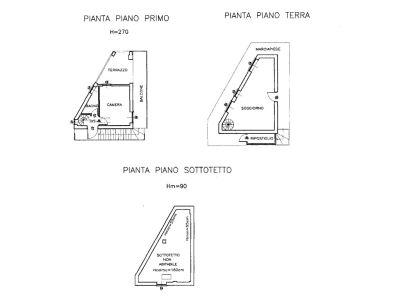 planimetria Villa Vendita San Gillio