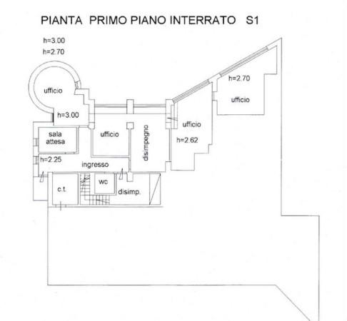 foto PLANIMETRIA Villa, buono stato, 950 mq, San Salvatore Monferrato