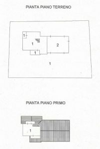 planimetria Villa Vendita Santo Stefano Roero