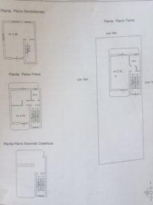 planimetria Villa Vendita Scafati