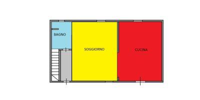 planimetria Villa Vendita Scarnafigi