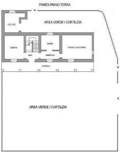 planimetria Villa Vendita Settimo Torinese