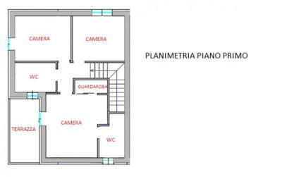 foto PLANIMETRIA Villa via IV Novembre, Sovizzo