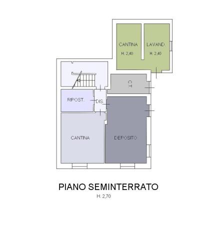 foto P.Seminterrato Villa via Guglielmo Marconi 6, Tollegno