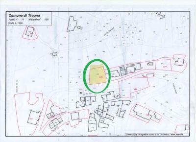 planimetria Villa Vendita Traona