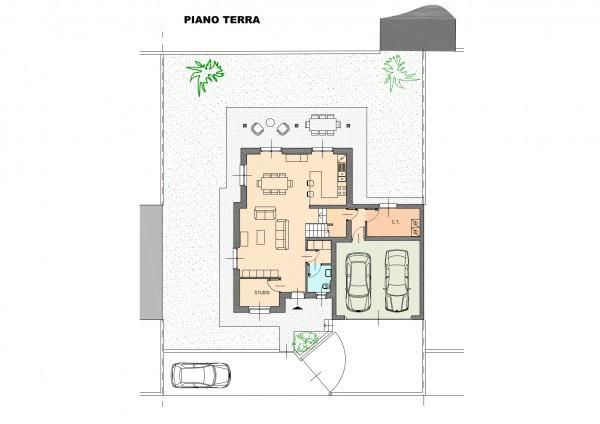 foto planimetria tipo Villa, nuova, 240 mq, Uggiate-Trevano