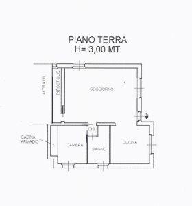 planimetria Villa Vendita Veniano