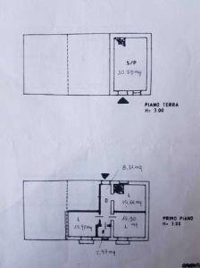 planimetria Villetta a schiera Affitto Gallicchio