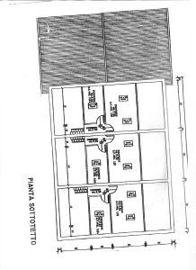 planimetria Villetta a schiera Vendita Borgo Virgilio