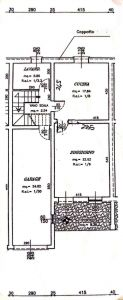 planimetria Villetta a schiera Vendita Curtatone