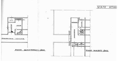 planimetria Villetta a schiera Vendita Foiano della Chiana