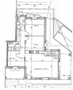 planimetria Villetta a schiera Vendita Pedrengo