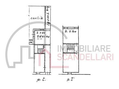 planimetria Villetta a schiera Vendita Rimini