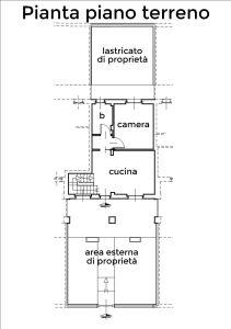 planimetria Villetta a schiera Vendita Riva Presso Chieri