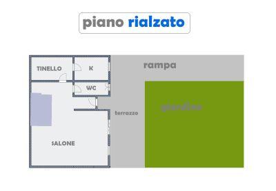planimetria Villetta a schiera Vendita Roma