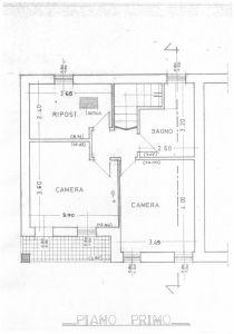 planimetria Villetta a schiera Vendita San Giovanni Ilarione