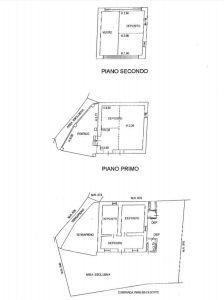 planimetria Villetta a schiera Vendita Torrebelvicino