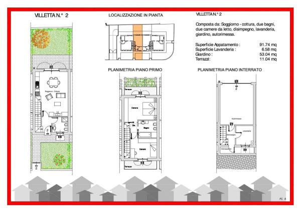 Case in vendita villa di serio idea di casa for Planimetrie della casa a schiera