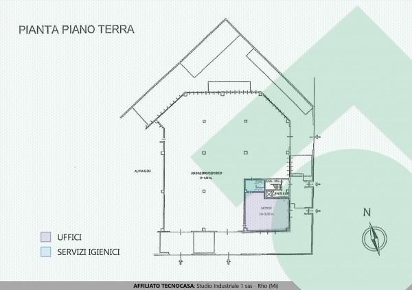 Piante Ufficio Open Space : Immobile in affitto a pero rif. 66976003 immobiliare.it