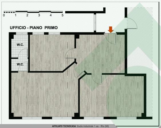 foto planimetria ufficio Rho Ufficio in Affitto a Rho