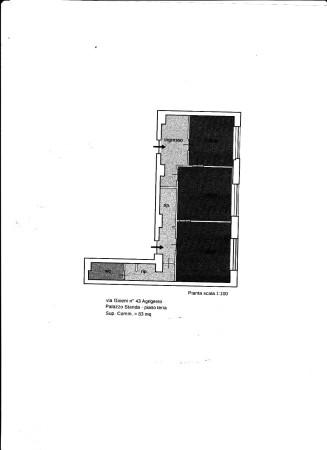 foto planimetria Ufficio in Vendita a Agrigento