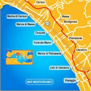 foto MAPPA Stabilimento balneare in Vendita a Montignoso