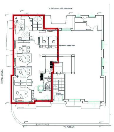 foto plan piano terra Filiale bancaria in Vendita a Riva Ligure